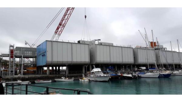 Container Impianti per 'Acquario di Genova'